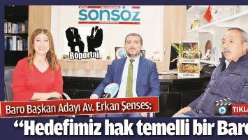 """""""HEDEFİMİZ HAK TEMELLİ BİR BARO"""""""