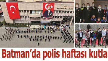 BATMAN'DA POLİS HAFTASI KUTLANDI