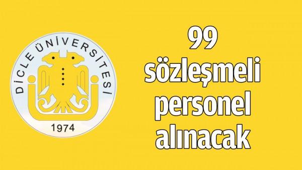 99 SÖZLEŞMELİ PERSONEL ALINACAK