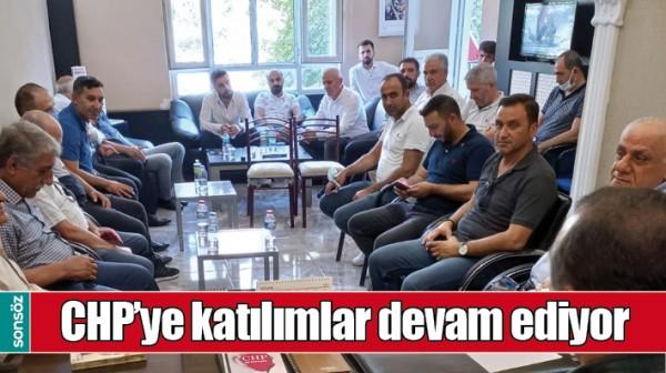 BATMAN'DA CHP'YE KATILIMLAR DEVAM EDİYOR