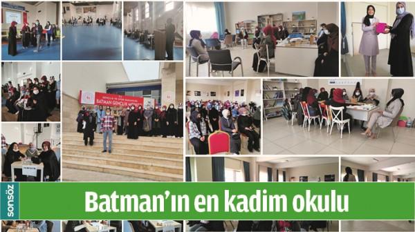 BATMAN'IN EN KADİM OKULU