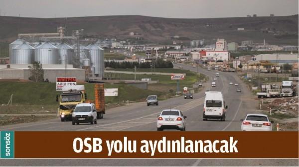 BATMAN OSB YOLU AYDINLANACAK