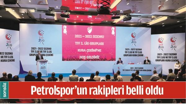BATMAN PETROLSPOR'UN RAKİPLERİ BELLİ OLDU