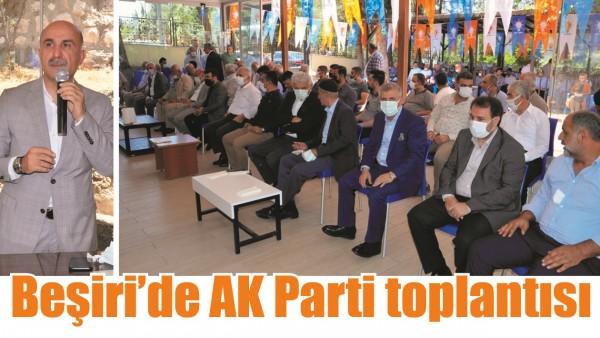 BEŞİRİ'DE AK PARTİ TOPLANTISI