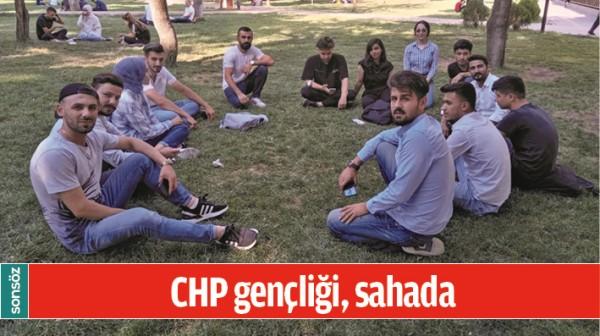 CHP GENÇLİĞİ, SAHADA