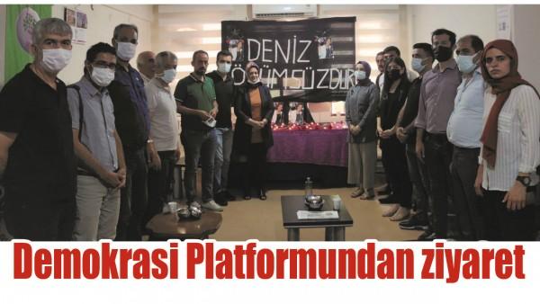 DEMOKRASİ PLATFORMUNDAN ZİYARET
