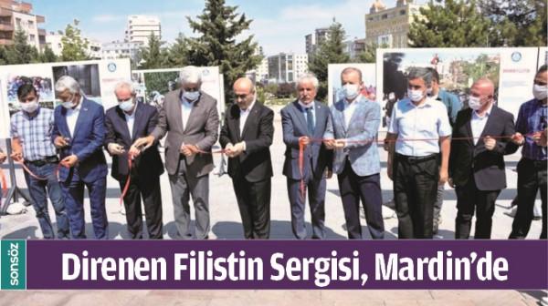 DİRENEN FİLİSTİN SERGİSİ, MARDİN'DE
