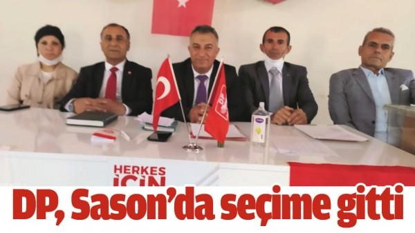 DP, SASON'DA SEÇİME GİTTİ