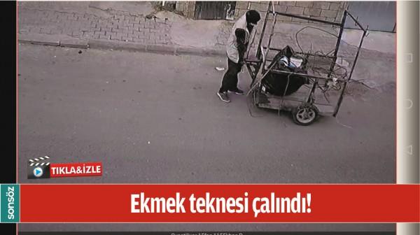 EKMEK TEKNESİ ÇALINDI!