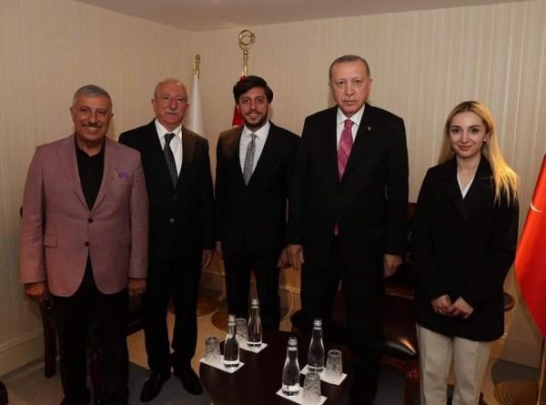 Faris Özdemir, Cumhurbaşkanı Erdoğan'ı düğüne davet etti