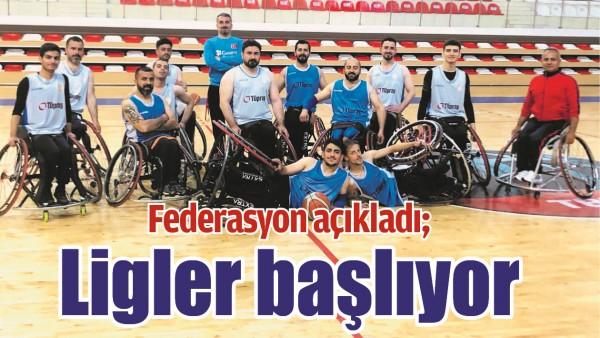 FEDERASYON AÇIKLADI; LİGLER BAŞLIYOR