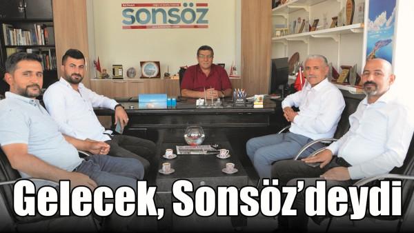 GELECEK, SONSÖZ'DEYDİ