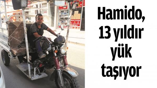 HAMİDO, 13 YILDIR YÜK TAŞIYOR