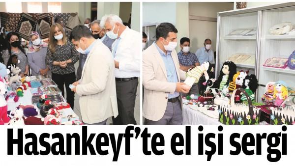 HASANKEYF'TE EL İŞİ SERGİ