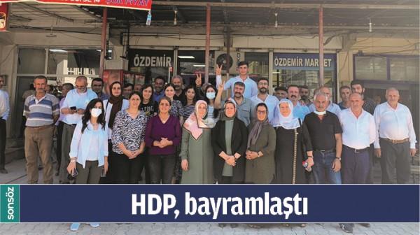 HDP, BAYRAMLAŞTI
