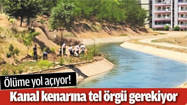 KANAL KENARINA TEL ÖRGÜ GEREKİYOR