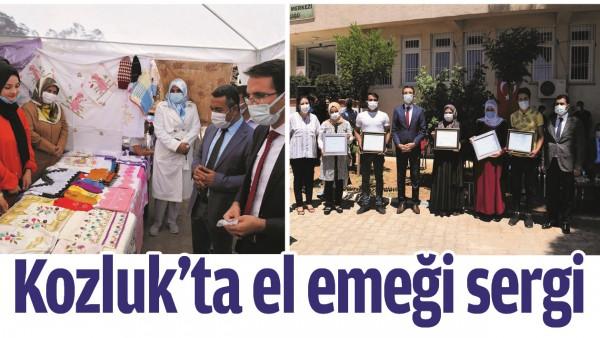 KOZLUK'TA EL EMEĞİ SERGİ