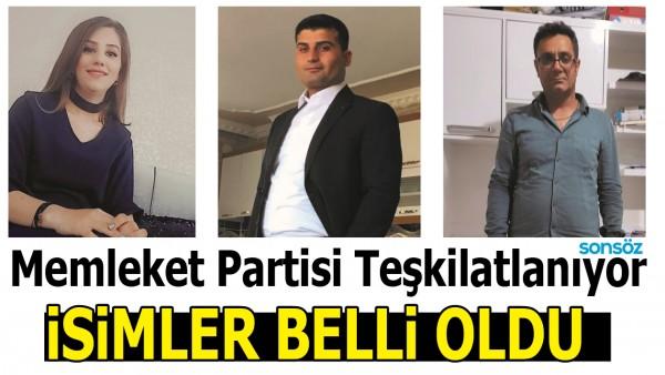 MEMLEKET PARTİSİ TEŞKİLATLANIYOR