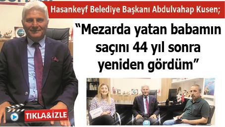 """""""MEZARDA YATAN BABAMIN SAÇINI 44 YIL SONRA YENİDEN GÖRDÜM"""""""