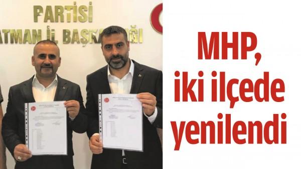 MHP, İKİ İLÇEDE YENİLENDİ