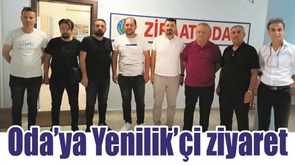 ODA'YA YENİLİK'Çİ ZİYARET