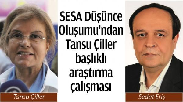SESA Düşünce Oluşumu'ndan Tansu Çiller başlıklı araştırma çalışması