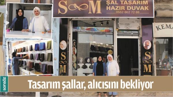 TASARIM ŞALLAR, ALICISINI BEKLİYOR